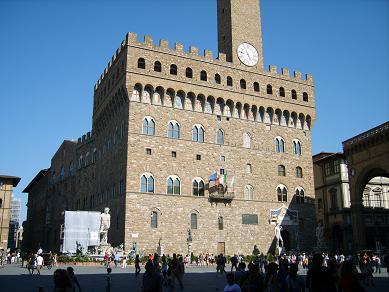 Palazzo Vecchio, Florence Italy