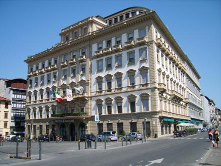 The Westin Excelsior in Florence Italy