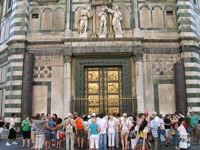 doors of the Baptistery & The Baptistery in Florence has famous doors Pezcame.Com