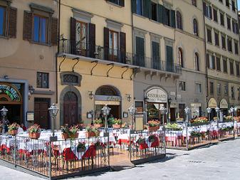 terrace piazza della signoria