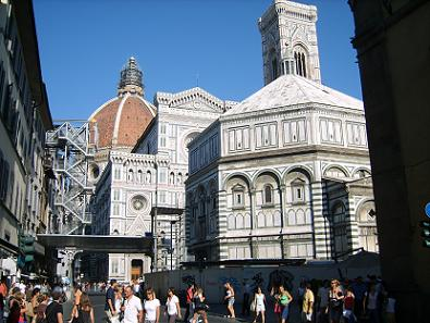 Baptistery and Duomo in Florence